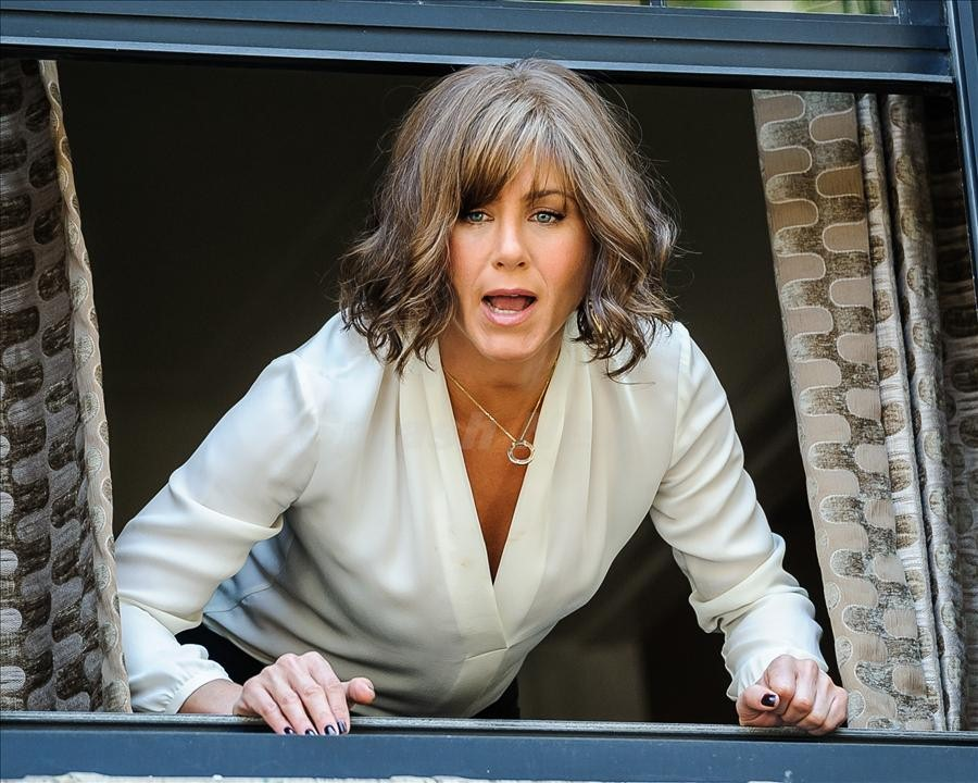 "Jennifer Aniston on location for ""Squirrels to the Nuts"""
